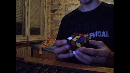 Българин Нарежда куба на рубик за 17 секунди!