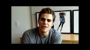 Paul Wesley from the Vampire Diaries at Seventeen