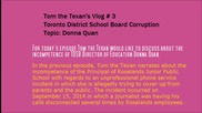Toronto District School Board incompetence- Donna Quan- Tom the Texan Vlogs