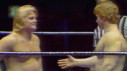 """Bob Backlund and Greg """"The Hammer"""" Valentine fight tooth-and-nail for the WWE Title in Hidden Gem (WWE Network Exclusive"""