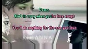 Rihanna Feat. Justin - Rehab [karaoke]