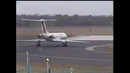 Учебно - Тренировачен Самолет Туполев Ту - 134