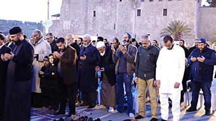 Libya: Hundreds protest against LNA forces' advancement towards Tripoli