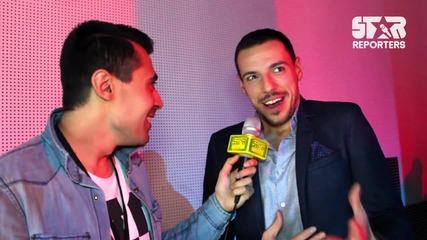 Лудия репортер с повече фенове от Гери-Никол