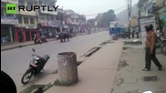 Rhino on a Rampage Through Nepal City Kills One and Injures 6