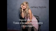Ashley Tisdale - Be Good To Me (bg Subs) + текст