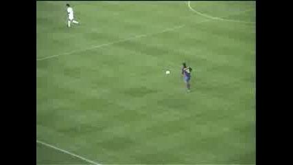 Роналдинио Вкарва Гол
