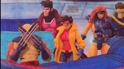 Началната сцена от култовата анимация Х- Мен (1992-1997)