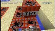 Minecraft - как да се изтрелваме нагоре
