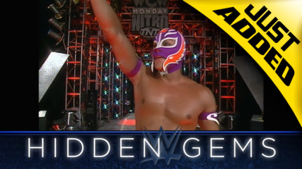 A young Rey Mysterio executes a series of thrilling moves in rare WWE Hidden Gem (WWE Network Exclusive)