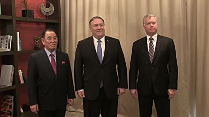 USA: Pompeo meets North Korean chief negotiator in Washington