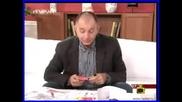 Коритаров оцветява детско албумче в студиото:))) - Господари на ефира 22.05.08