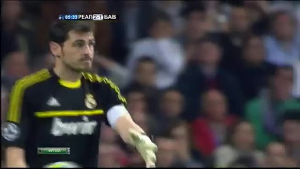 Real Madrid - Bayern Munich 2-1 ( 1-3 penalties) All Highlights! - 25.04.2012