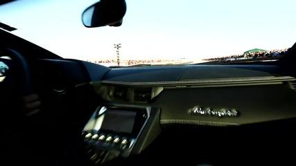 Lamborghini Aventador в България - Drag Onboard