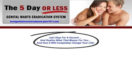 Hpv Genital Warts Cure