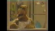 Alf Се Опитва Да Изяде Котката