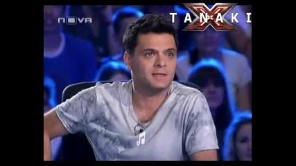 Тоя ще ви съсипе от смях - X - Factor България 11.09.11