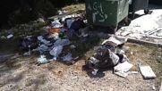 """Ето как събират боклука в кв. """"Симеоново"""""""