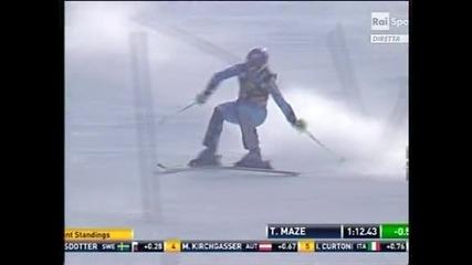 Тина Мазе спечели в Марибор и увеличи преднината си на върха в Световната купа