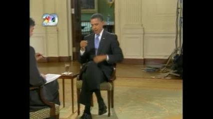 Барак Обама и мухата