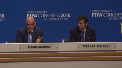 Switzerland: Gianni Infantino elected FIFA president