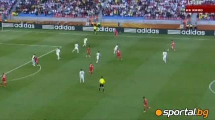 Англия на 1/8 финал след минимална победа над Словения. Словения 0 - 1 Англия.