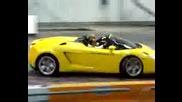 Lamborghini - Пързаля