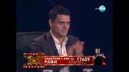 "Незабравим кавър на ""rolling in the deep"" ( Adele ) Рафи Богосян - X Factor Bulgaria 29.11.11"