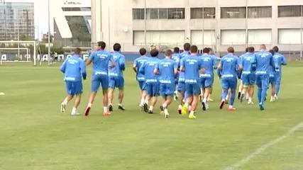 Френски нападател тренира с Левски
