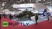 Нови модели хеликоптери бяха показани на изложение в Русия