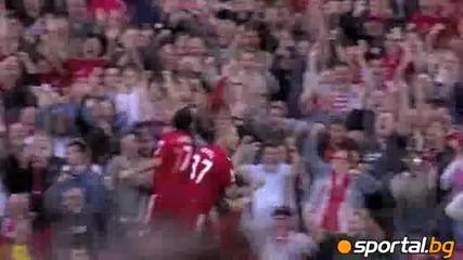 Най-добрите голове на Ливърпул за сезон 2011-2012