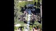 Снимки на Avril Lavigne от сватбата й!