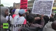 USA: Baltimore residents celebrate after six officers charged in Freddie Gray case