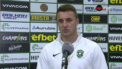 Генчев: Футболистите разбраха своята вина и реагираха