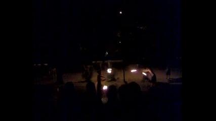 Никола върти огън на кръглото - Ямбол