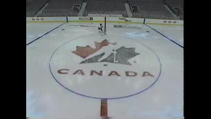 хокей на лед - контрол на шайба