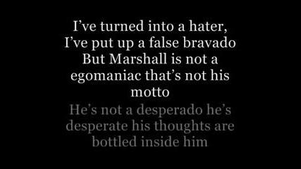 Eminem Feat. Kobe - Talkin 2 Myself lyrics