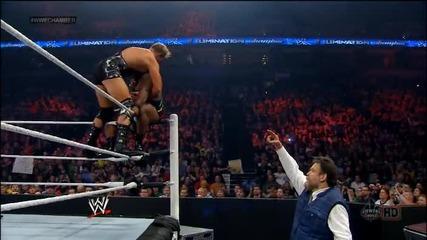 Джак фукльото срещу Големия и. (за интерконтиненталната титла) / Elimination chamber 2014