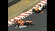 Най - Добрите Катастрофи От F1 2007 !
