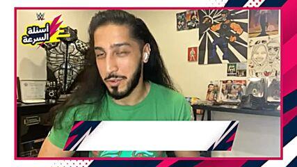 Ali accepts the Rapid-Fire Challenge – WWE AL AN