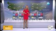 Прогноза за времето (30.12.2015 - сутрешна)