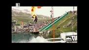 Скокове във вода от хеликоптер