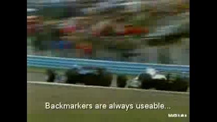Alan Jones F1 Overtakes