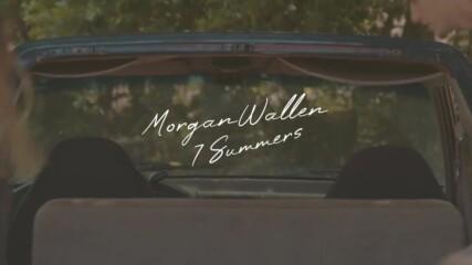 Morgan Wallen - 7 Summers (lyric Video)