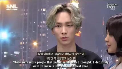 [eng subs] Shinee [snl Korea - global weekend] part 2/2