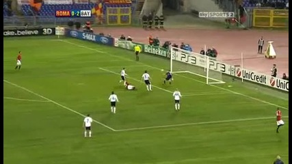 As Roma v Bayern Munich Sky Highlights - football video 23.11.10