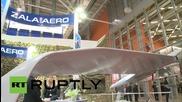 Russia: ZALA 421-16E5 drone on show at Interpolitex-2015