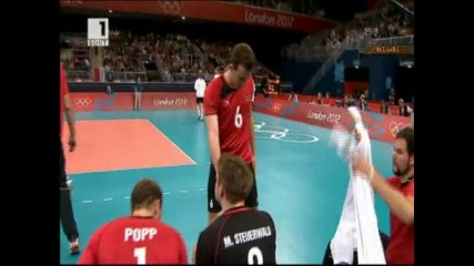 Прегазихме с 3:0 и Германия 09.08.12 - България на полуфинал срещу Русия!