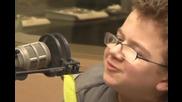 Момчето което подлуди интернет Keenan Cahill - интервю за радиото