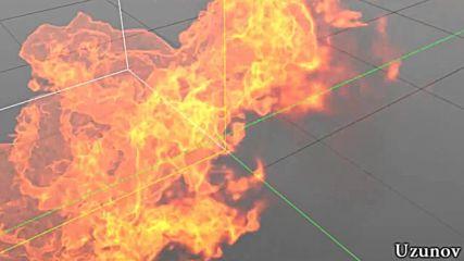 Компютърна симулация на огън